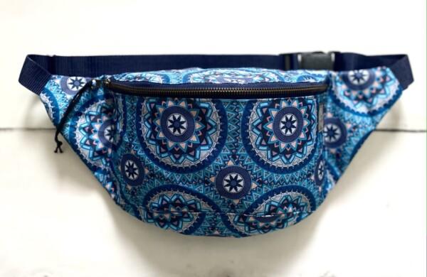 Nerka mandale in blue