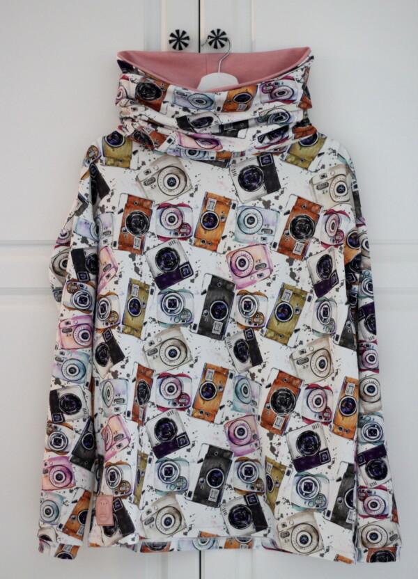 Bluza z kominem w aparaty