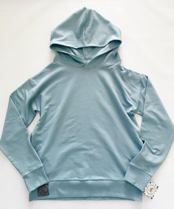 Bluza BASIC brudno niebieska