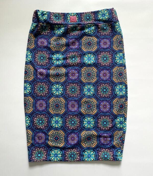 Spódnica mandale blue