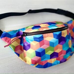 Nerka kolorowa geometria
