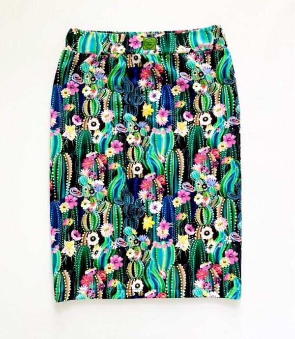 Spódnica kaktusy