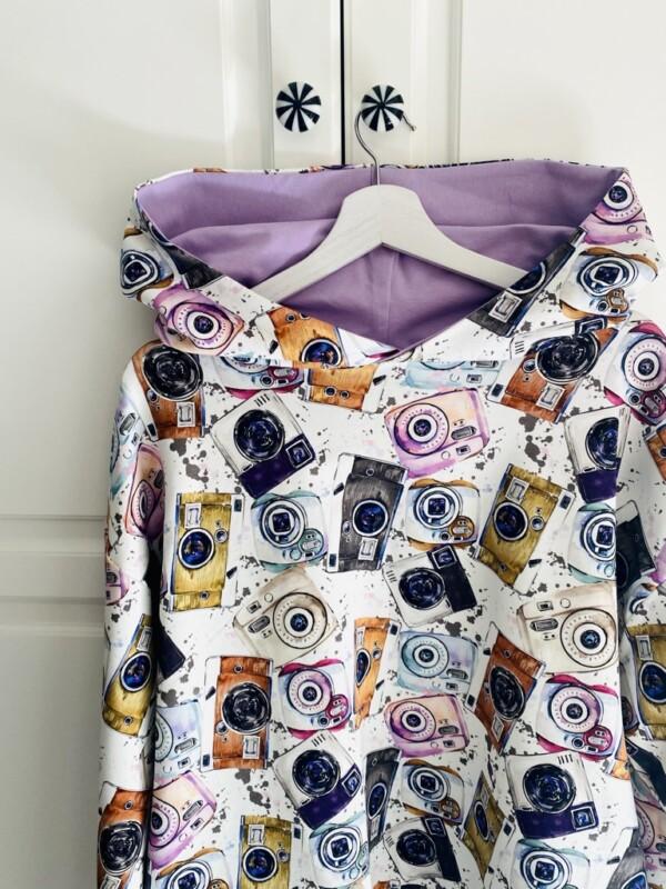 Bluza z kapturem w aparaty